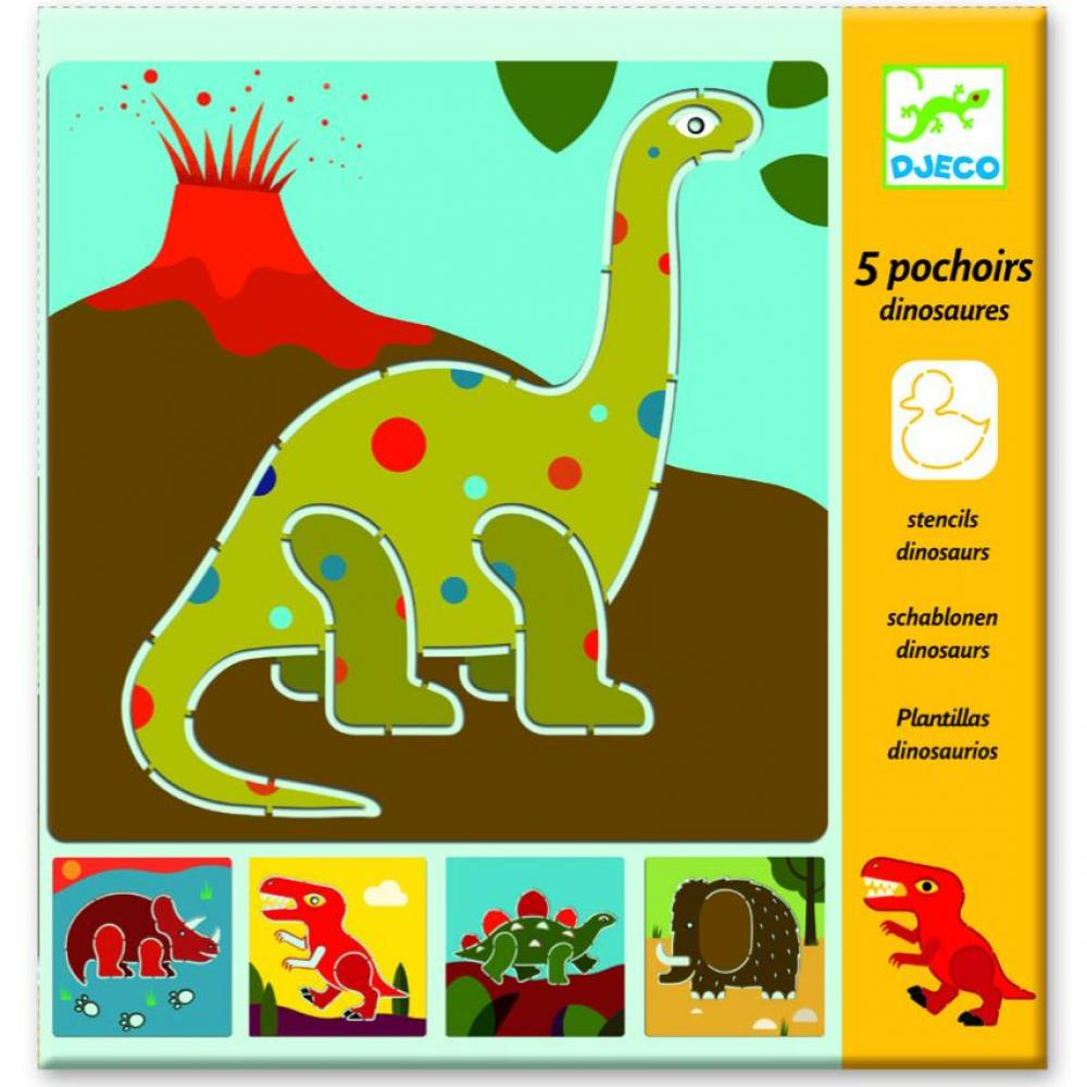 Small gift - Stencils - Dinosaurs