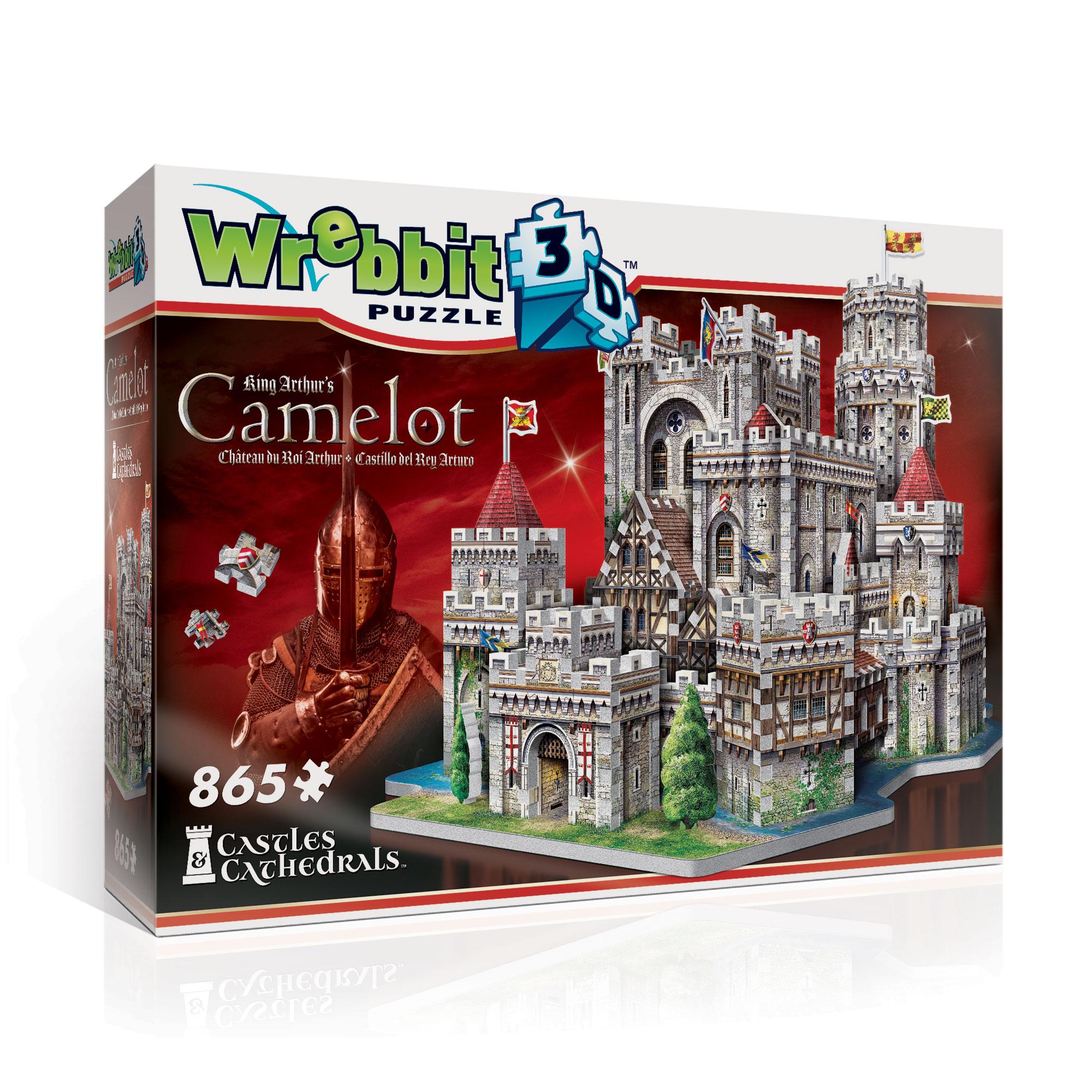 """3D Pusle """"King Arthur's Camelot"""""""