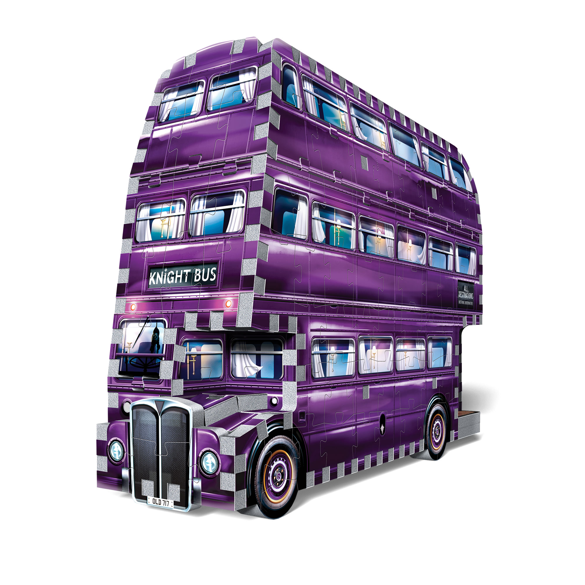 "3D Pusle ""THE KNIGHT BUS"""