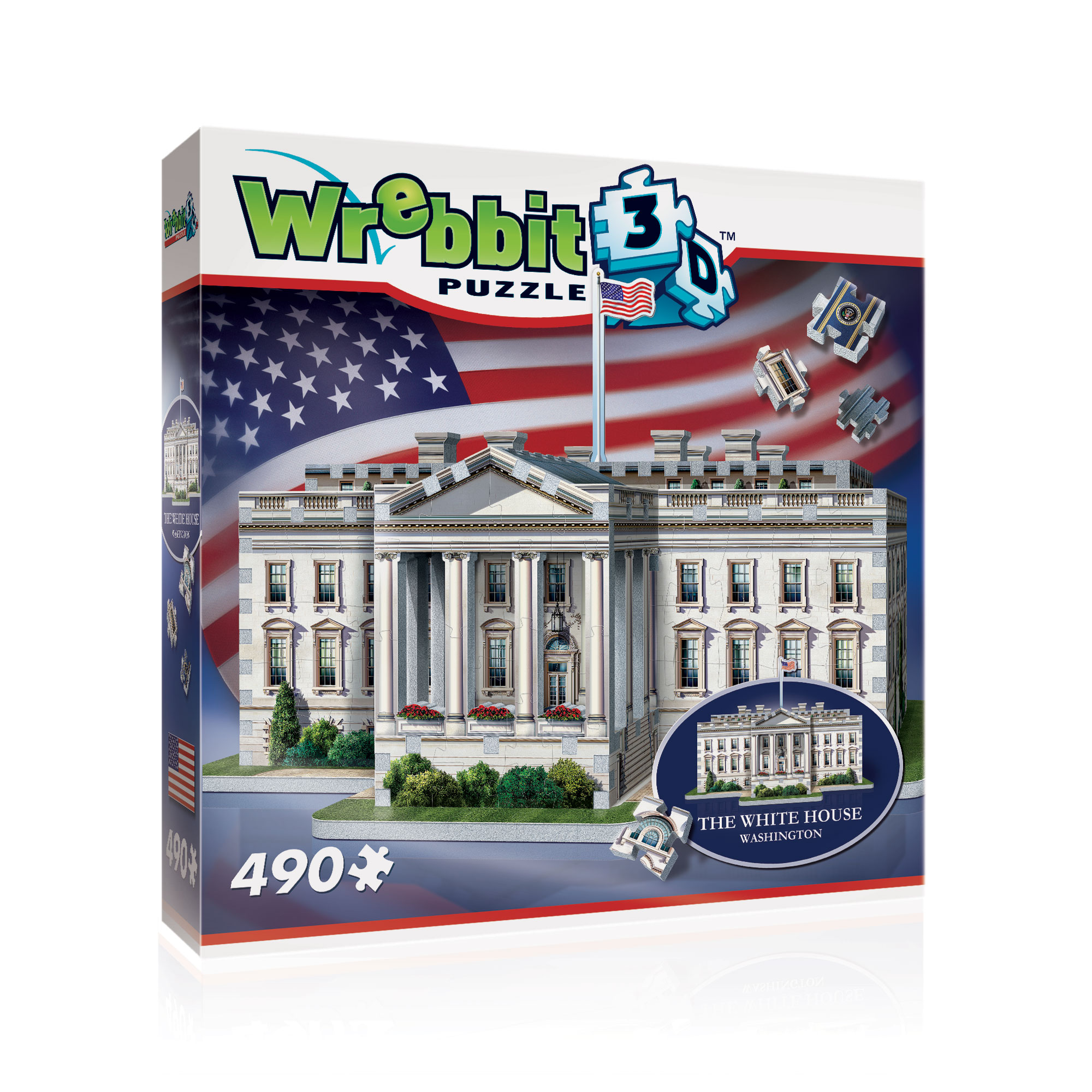 "3D Pusle ""WHITE HOUSE"""