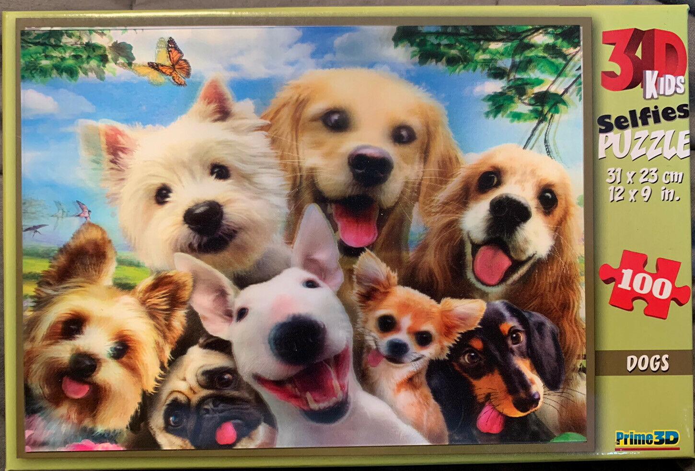 """3D pusle """"Dog selfie"""" 48tk"""