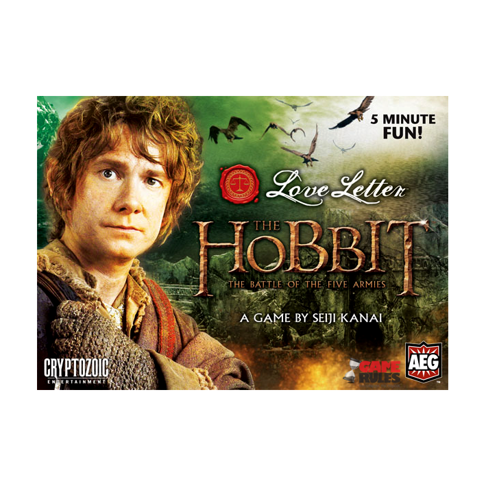 Love Letter Hobbit Boxed Ed.