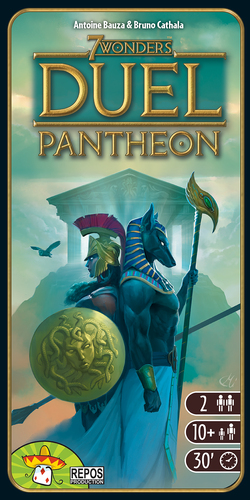 7 Wonders Duel Pantheon Exp.