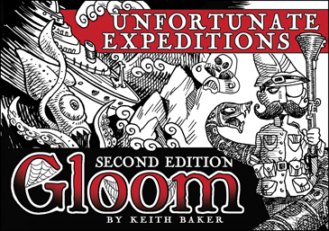 Gloom 2nd Ed. Unfortunate Expeditions