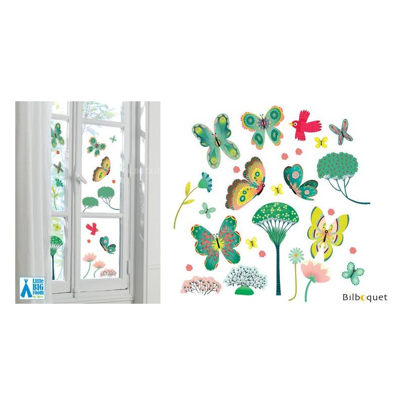 Windows stickers - Butterflies in the