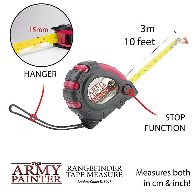 Army Painter Mõõdulint - Rangefinder Tape Measure