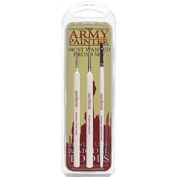 Army Painter Pintslikomplekt - Most Wanted Brush Set