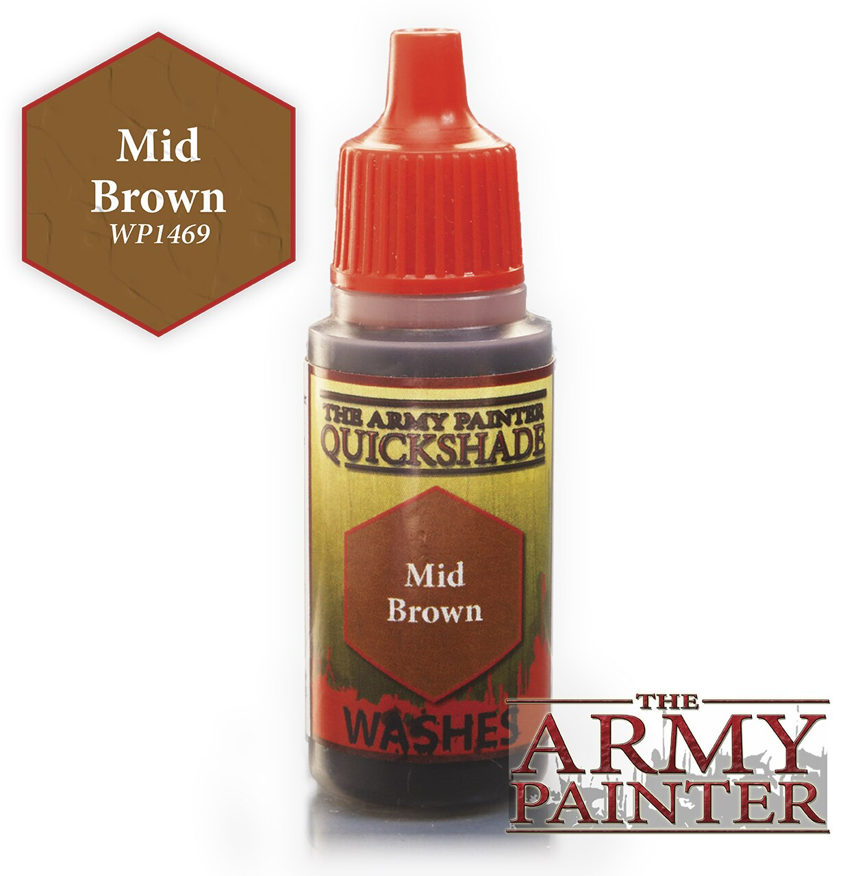Army Painter Quickshade - Mid Brown