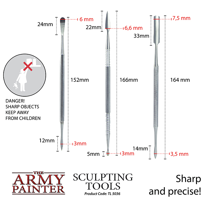 Army Painter - Sculpting Tools