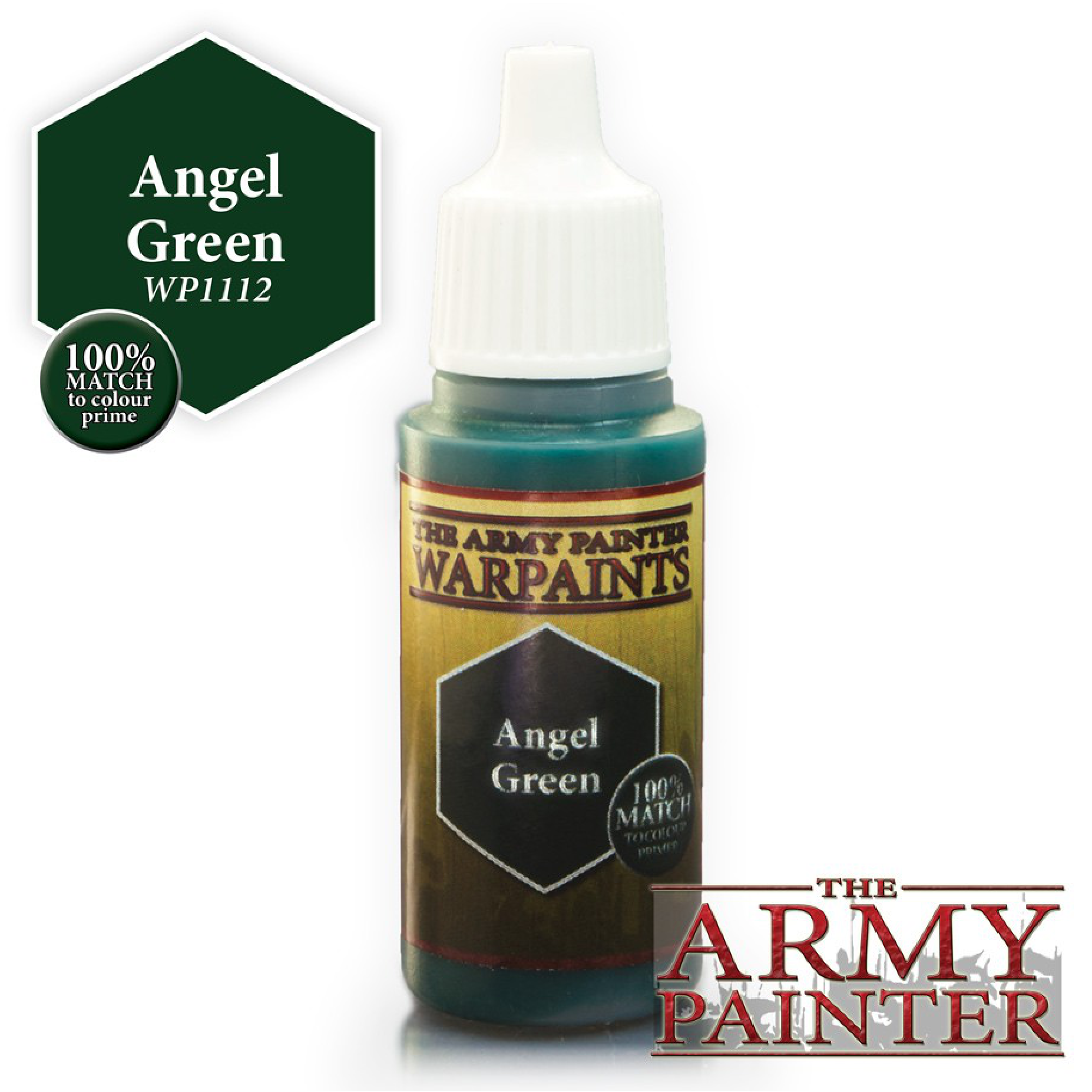 Army Painter Warpaint - Angel Green