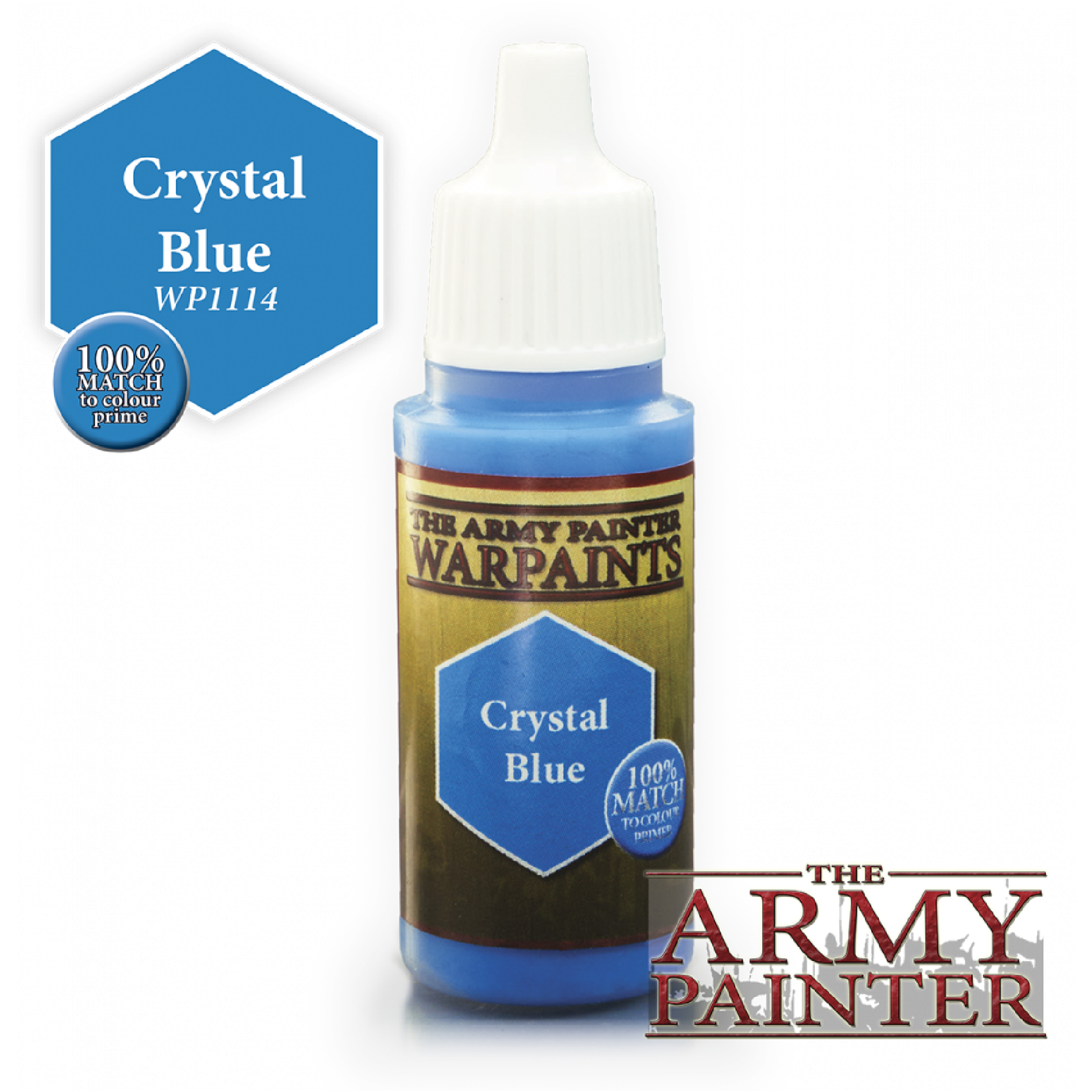 Army Painter Warpaint - Crystal Blue