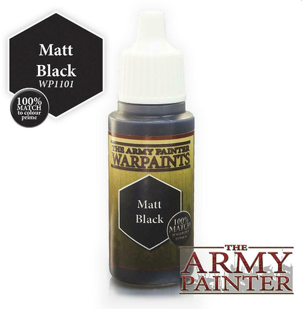 Army Painter Warpaint - Matt Black