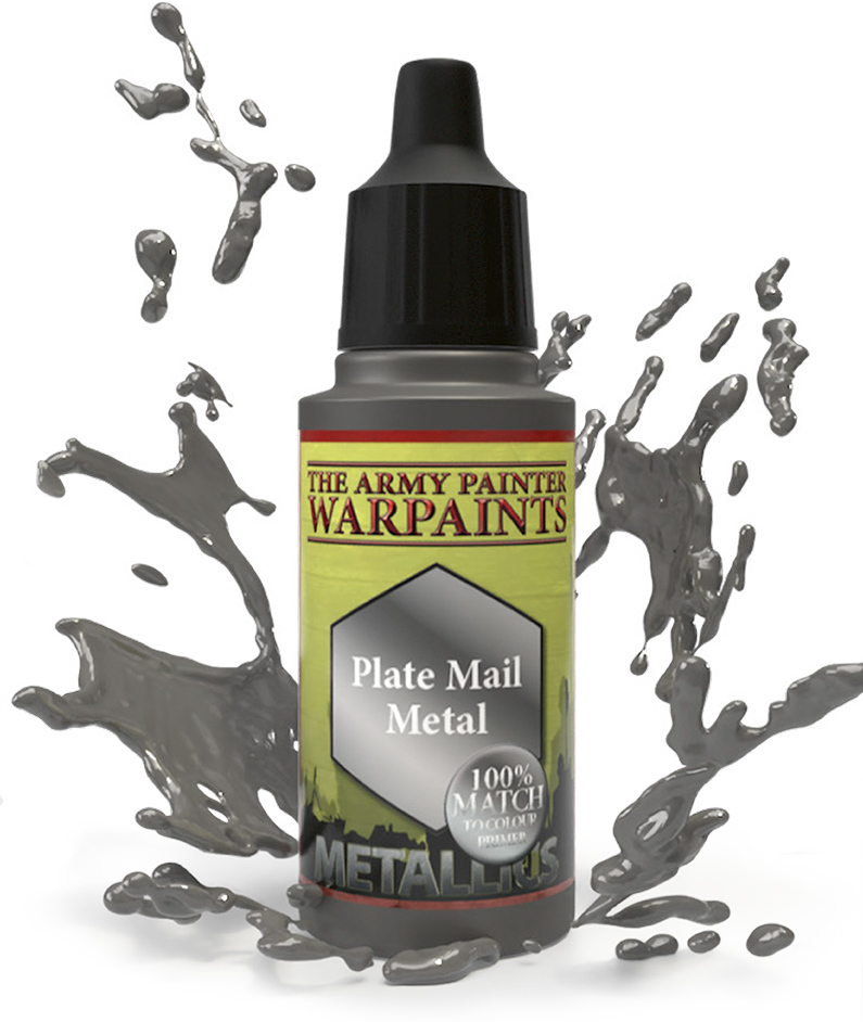 Army Painter Warpaint - Plate Mail Metal