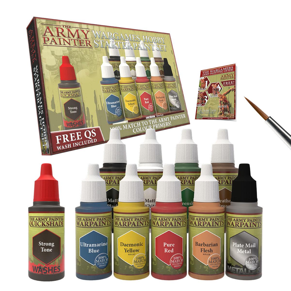 Army Painter - Warpaints Starter Paint Set