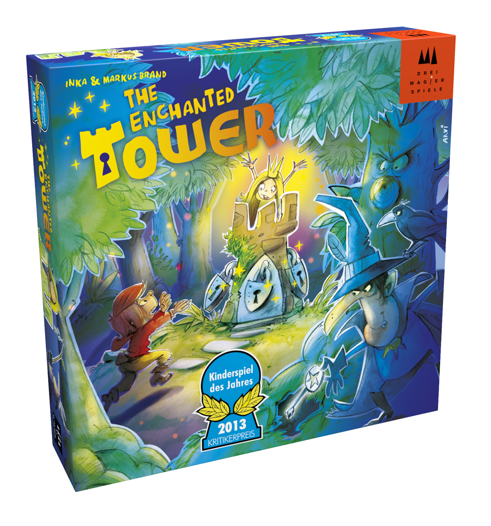 Nõiutud torn (Drei Magier: Enchanted Tower)