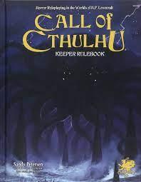 CoC RPG Keeper Rulebook 7th Ed.