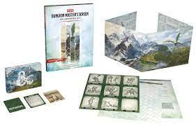 D&D 5th DM's Screen Wilderness Kit