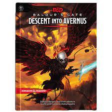 D&D 5th Descent into Avernus HC