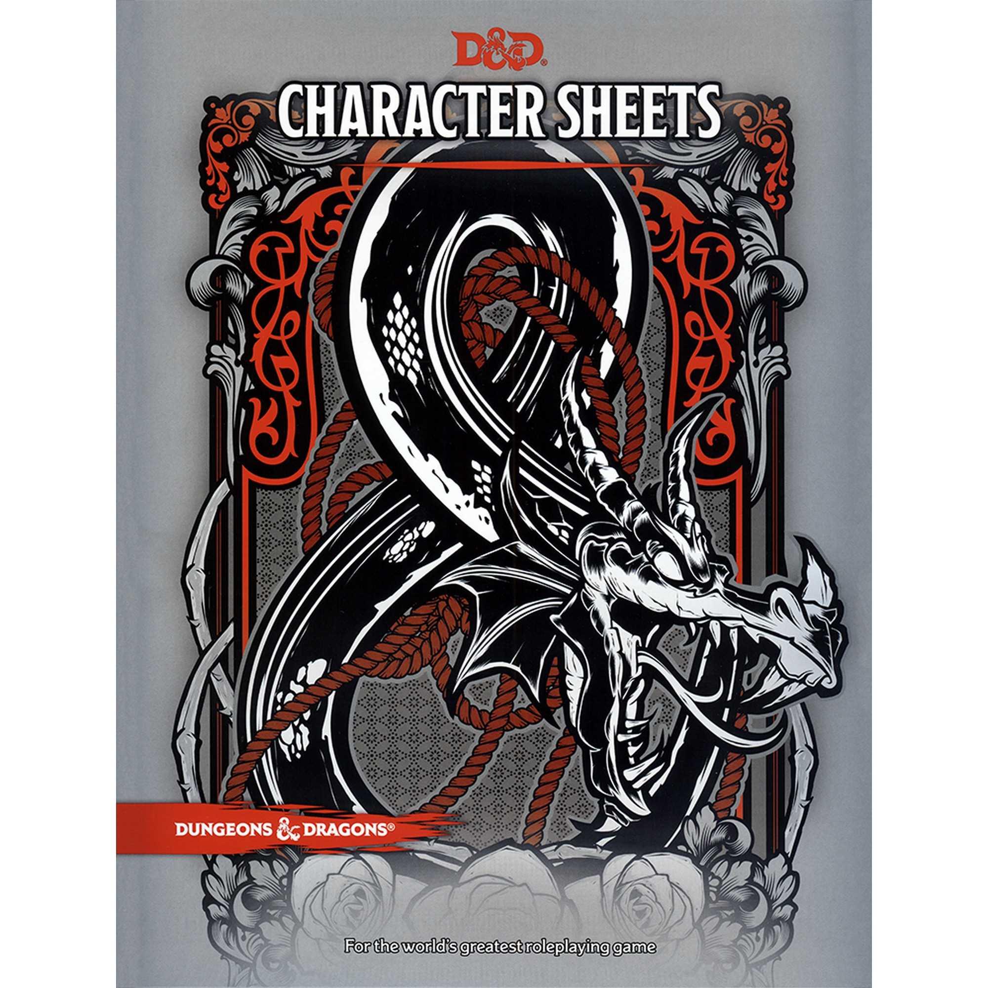 D&D 5th Ed. Character Sheets