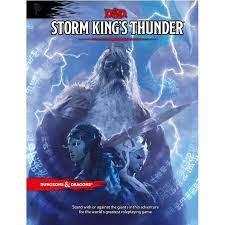 D&D 5th Ed. Storm King's Thunder