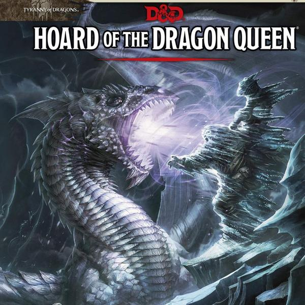 D&D 5th Edition Hoard of Dragon Queen