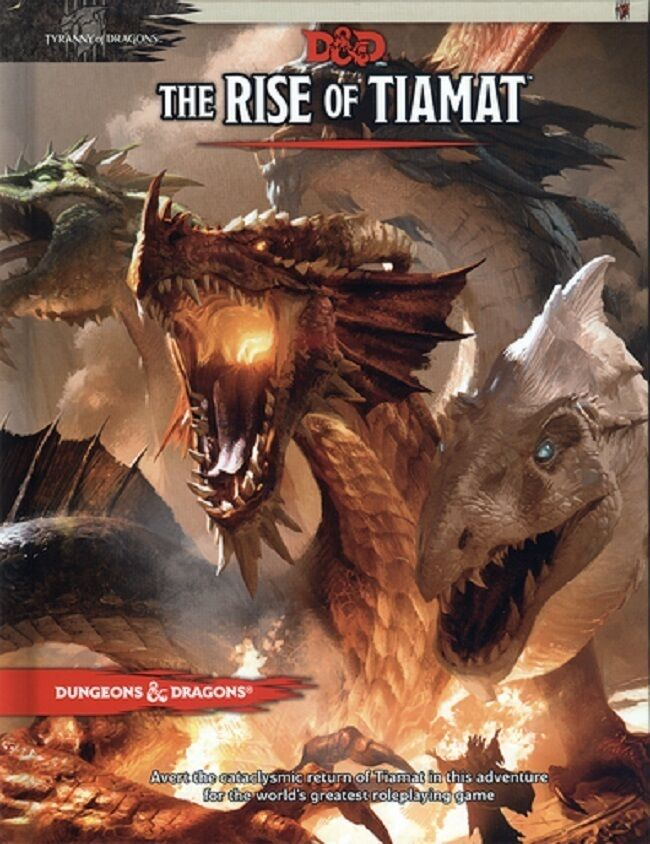 D&D 5th Edition Rise of Tiamat