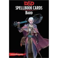D&D 5th Spell Deck Bard (128 kaarti)