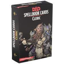 D&D 5th Spell Deck Cleric (149 kaarti)
