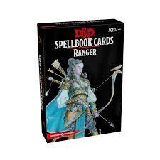 D&D 5th Spell Deck Ranger (46 kaarti)