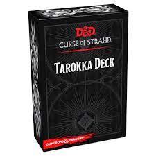 D&D 5th Tarokka Deck Curse of Strahd