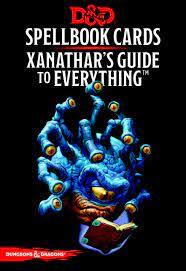 D&D 5th Xanathars (92 kaarti)