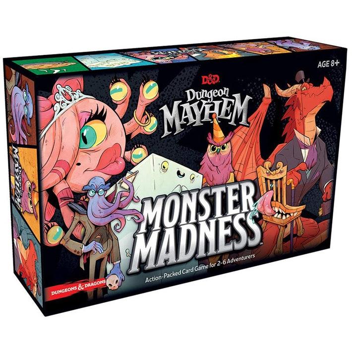 D&D Dungeon Mayhem Monster Madness