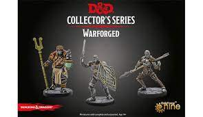 D&D Eberron Warforged 3 miniatuuri