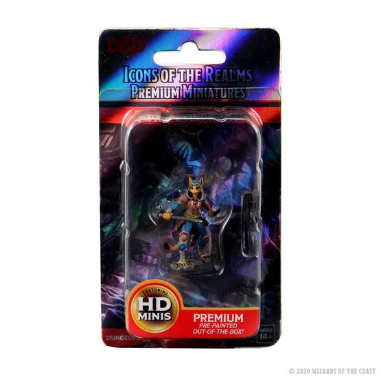 D&D Icons Female Tabaxi Rogue miniatuur