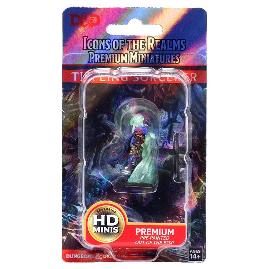 D&D Icons Tiefling Sorcerer Female Premium miniatuur