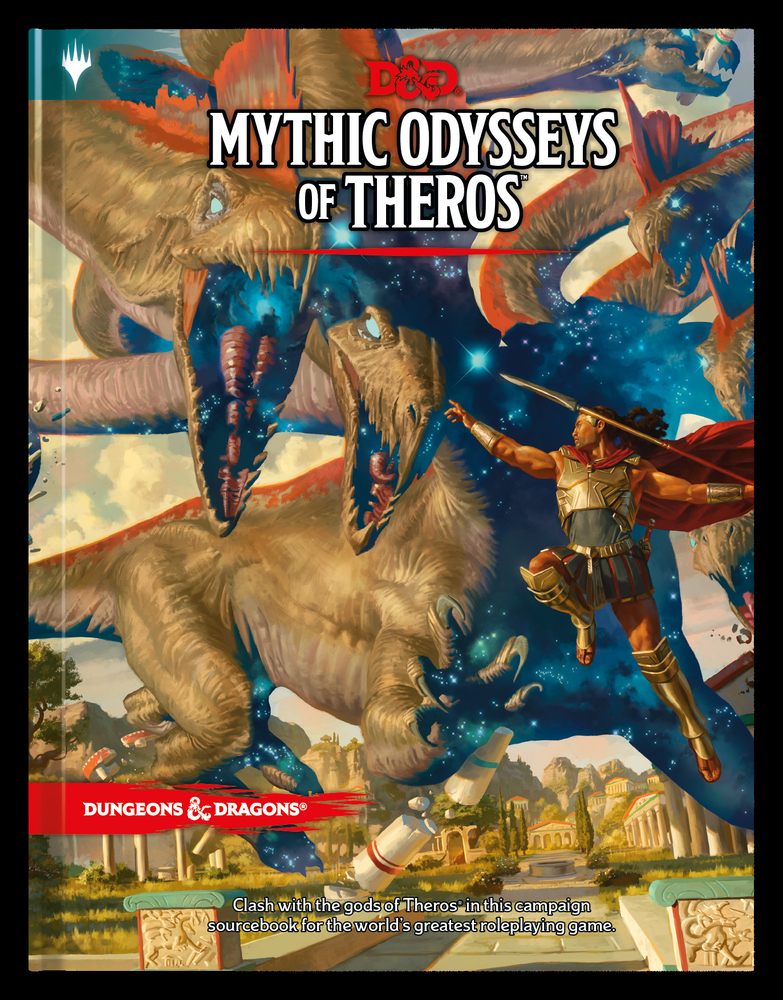 D&D Mythic Odysseys of Theros 5th Ed.