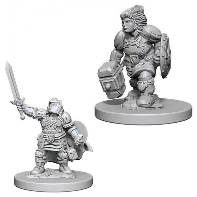 D&D Nolzur´s Dwarf Female Paladin miniatuurid