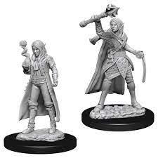 D&D Nolzur´s Female Elf Cleric miniatuurid
