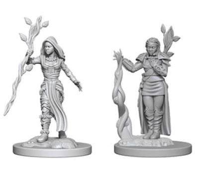 D&D Nolzur´s Female Human Druid miniatuurid