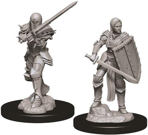 D&D Nolzur´s Female Human Fighter miniatuurid