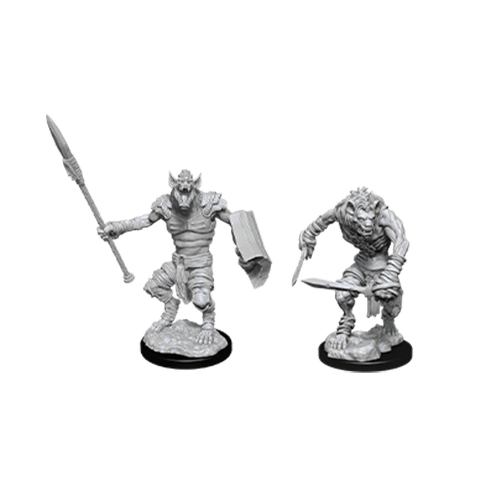 D&D Nolzur´s Gnoll & Flesh Gnawer miniatuurid