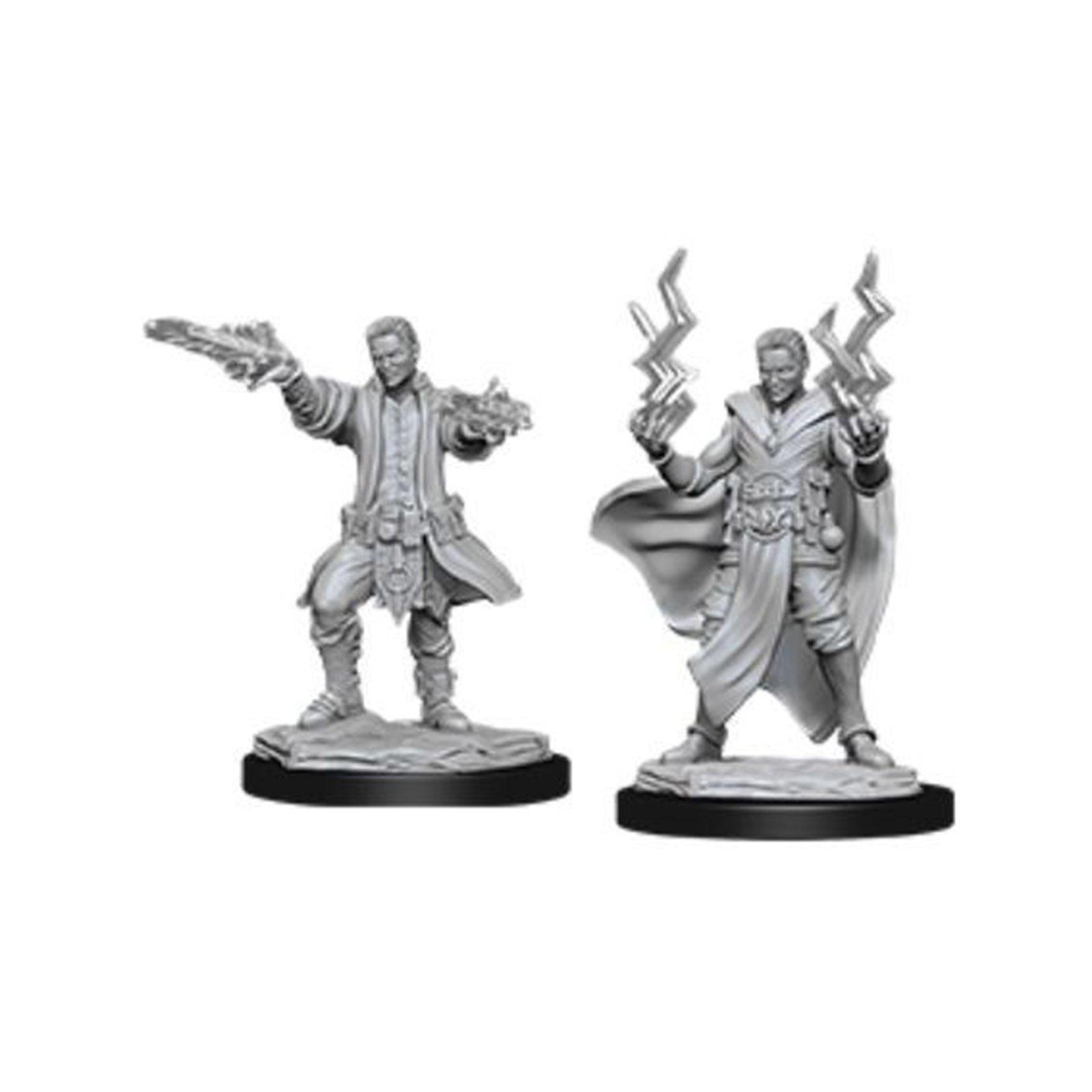 D&D Nolzur´s Human Sorcerer Male miniatuurid