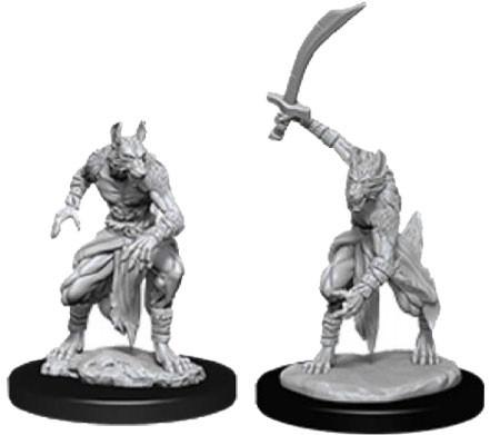 D&D Nolzur´s Jackalwere miniatuurid