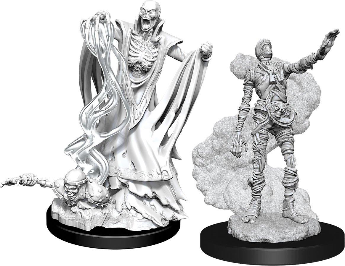 D&D Nolzur´s Lich & Mummy Lord miniatuurid