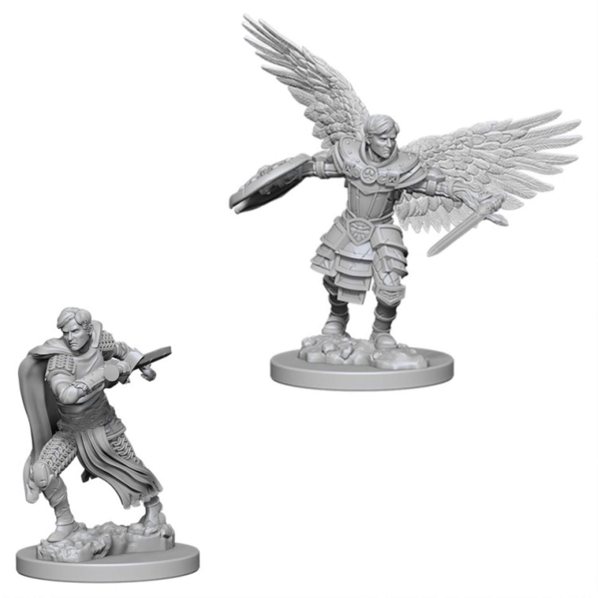 D&D Nolzur´s Male Aasimar Fighter miniatuurid