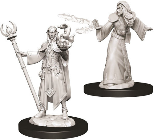 D&D Nolzur's Male Elf Wizard miniatuurid