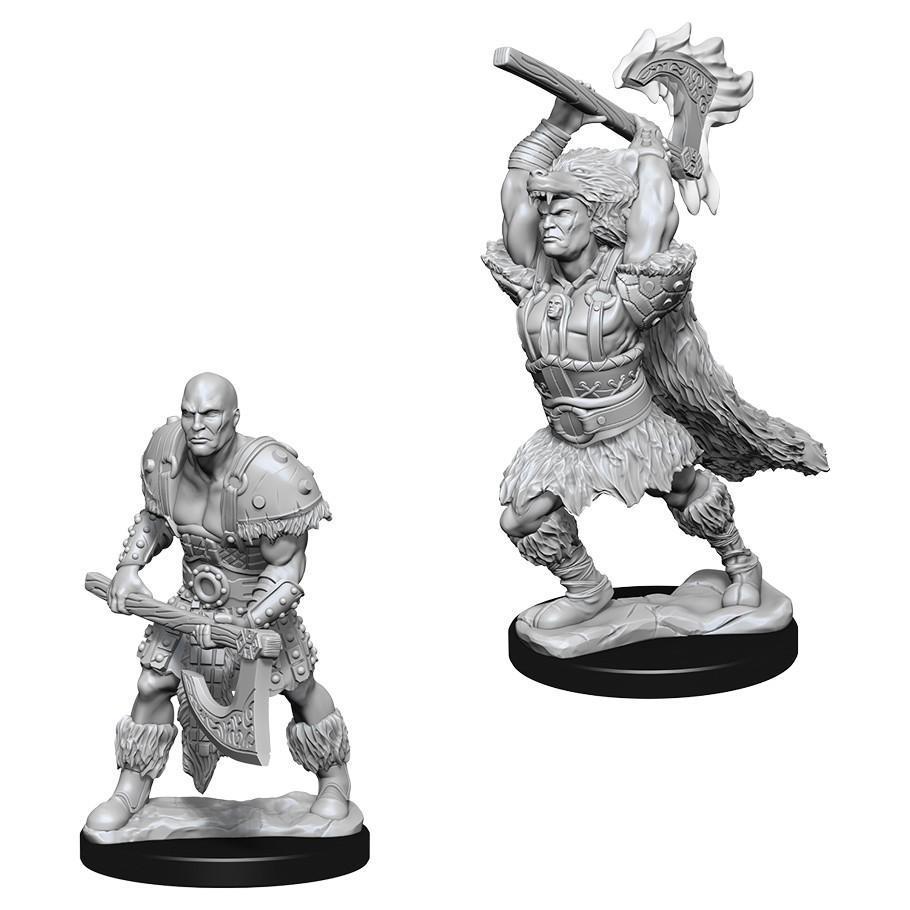 D&D Nolzur's Male Goliath Barbarian miniatuurid