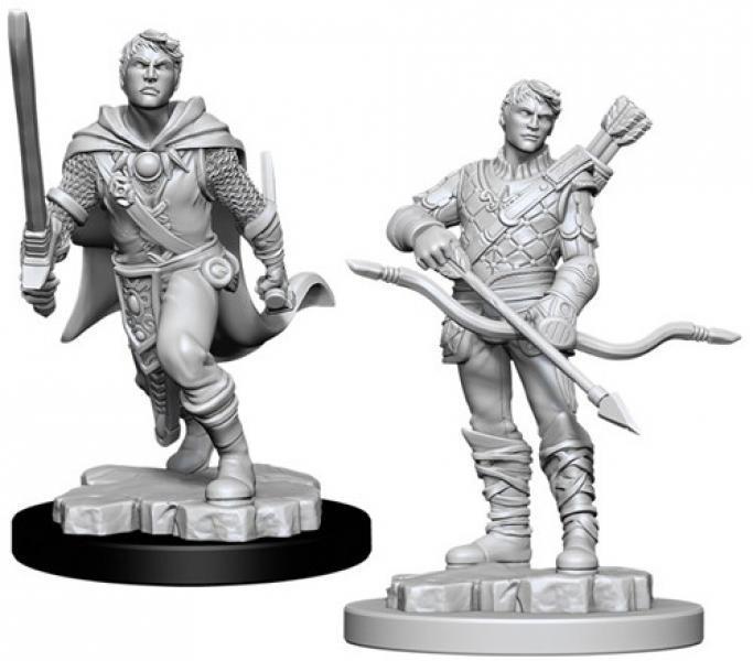 D&D Nolzur´s Male Human Ranger miniatuurid