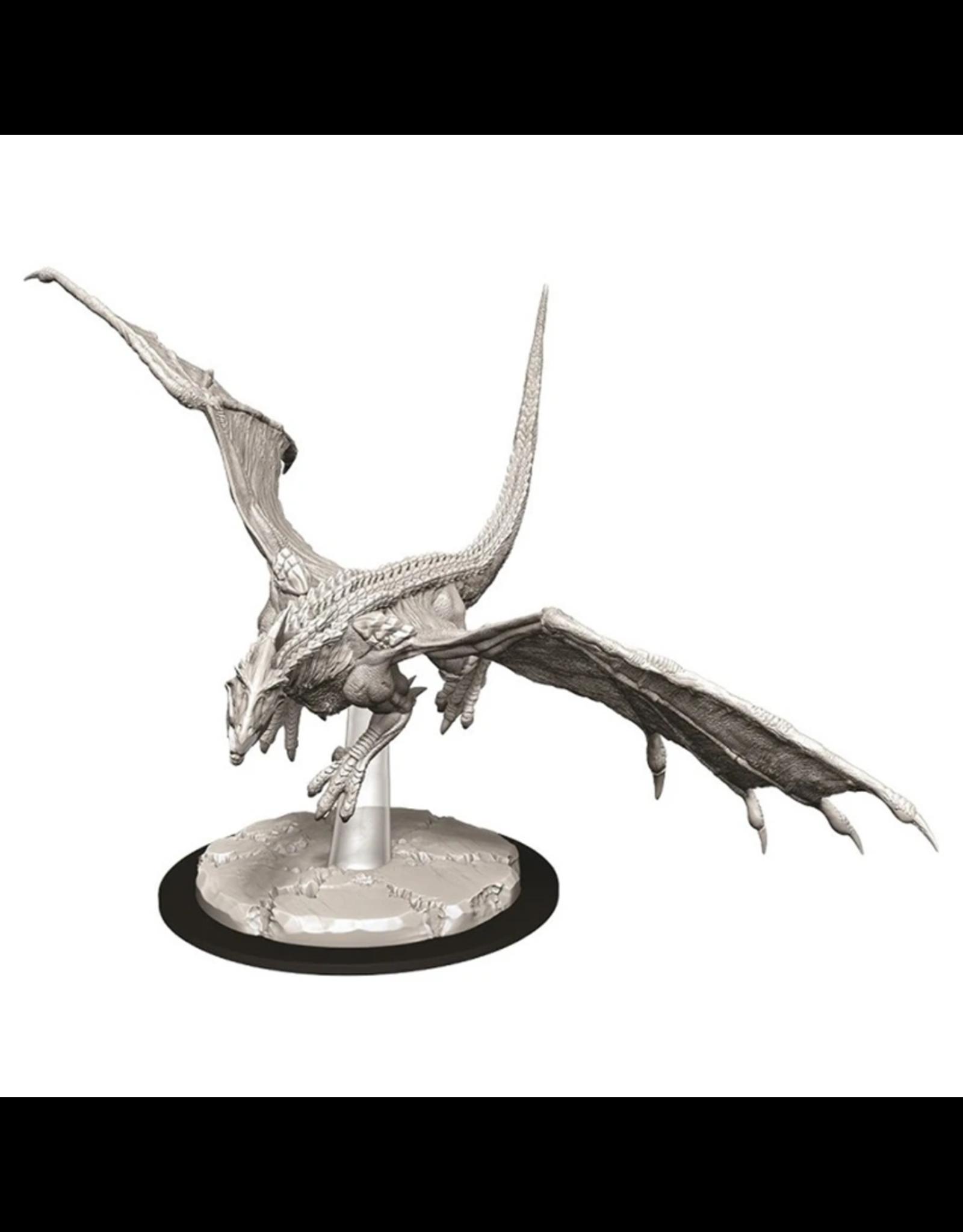 D&D Nolzur's Young White Dragon miniatuur