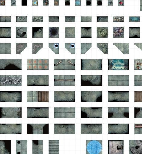 D&D Reincarnated City Tiles